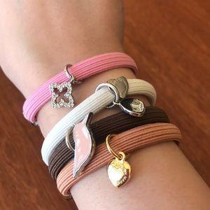 Marc Jacobs 4 bracelets/hair ties